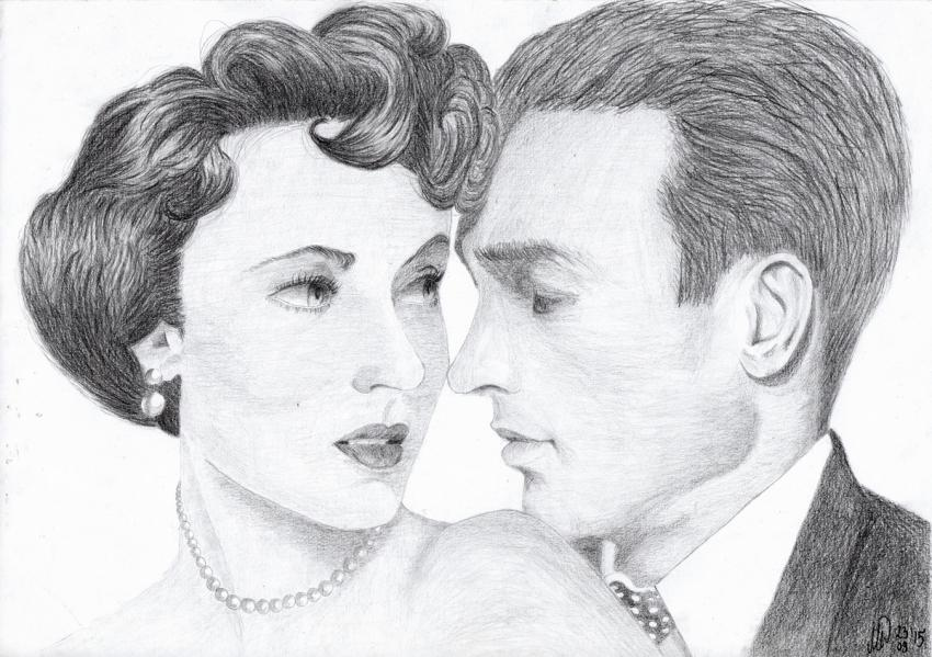 Elizabeth Taylor, Montgomery Clift by LiliMadlene